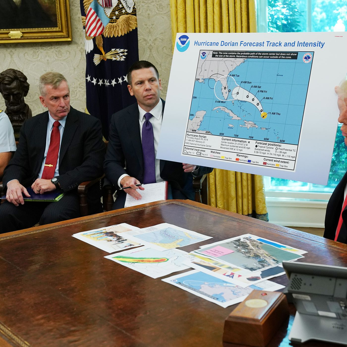 Furious Storm Over Trump S Tweets Continues To Rage At Noaa