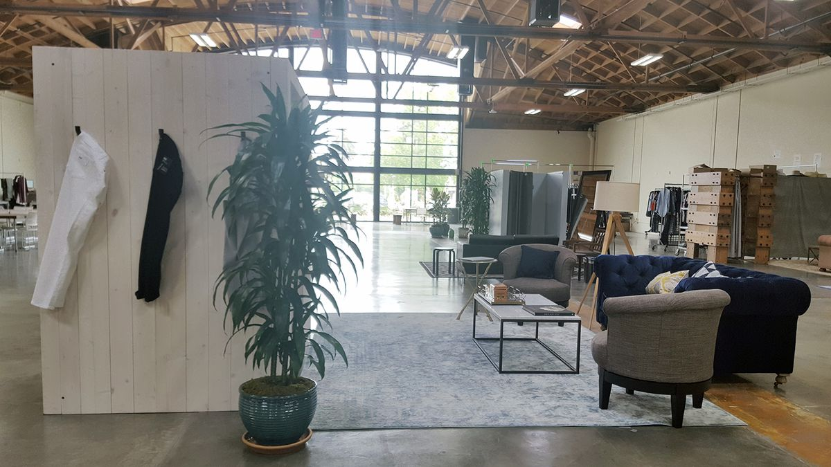 Trunk Club's bright Culver City styling studio for women and men