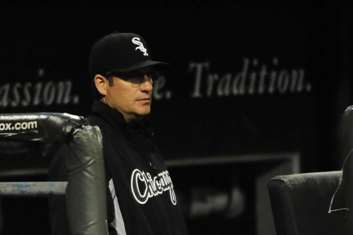 White Sox manager Robin Ventura
