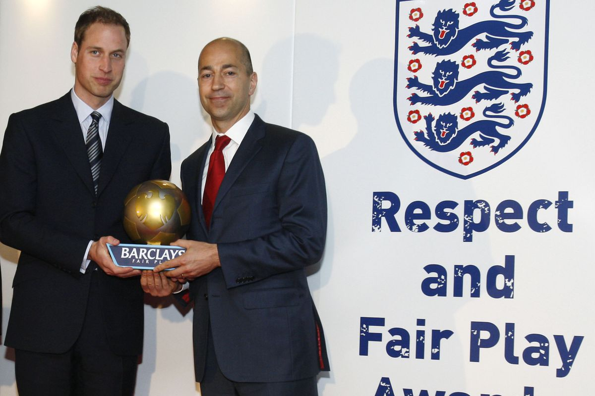 Football Association Respect and Fair Play Award Ceremony
