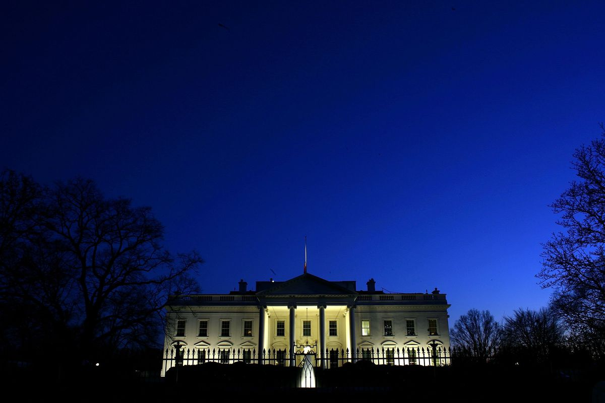The White House on January 10, 2007.