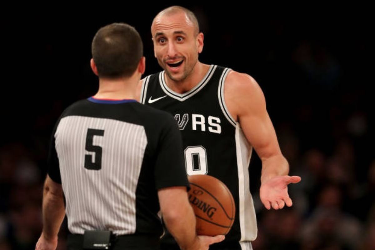 WATCH: Manu Ginobili magically makes a 3-point pass no one can believe
