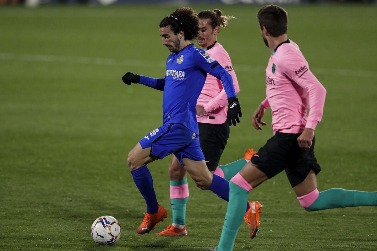 Getafe v FC Barcelona - La Liga Santander