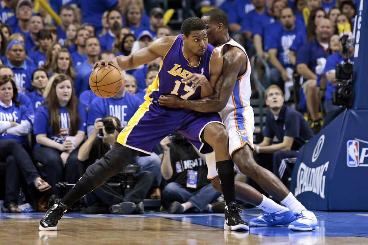 No one can keep Bynum out of the lane like Perk can.
