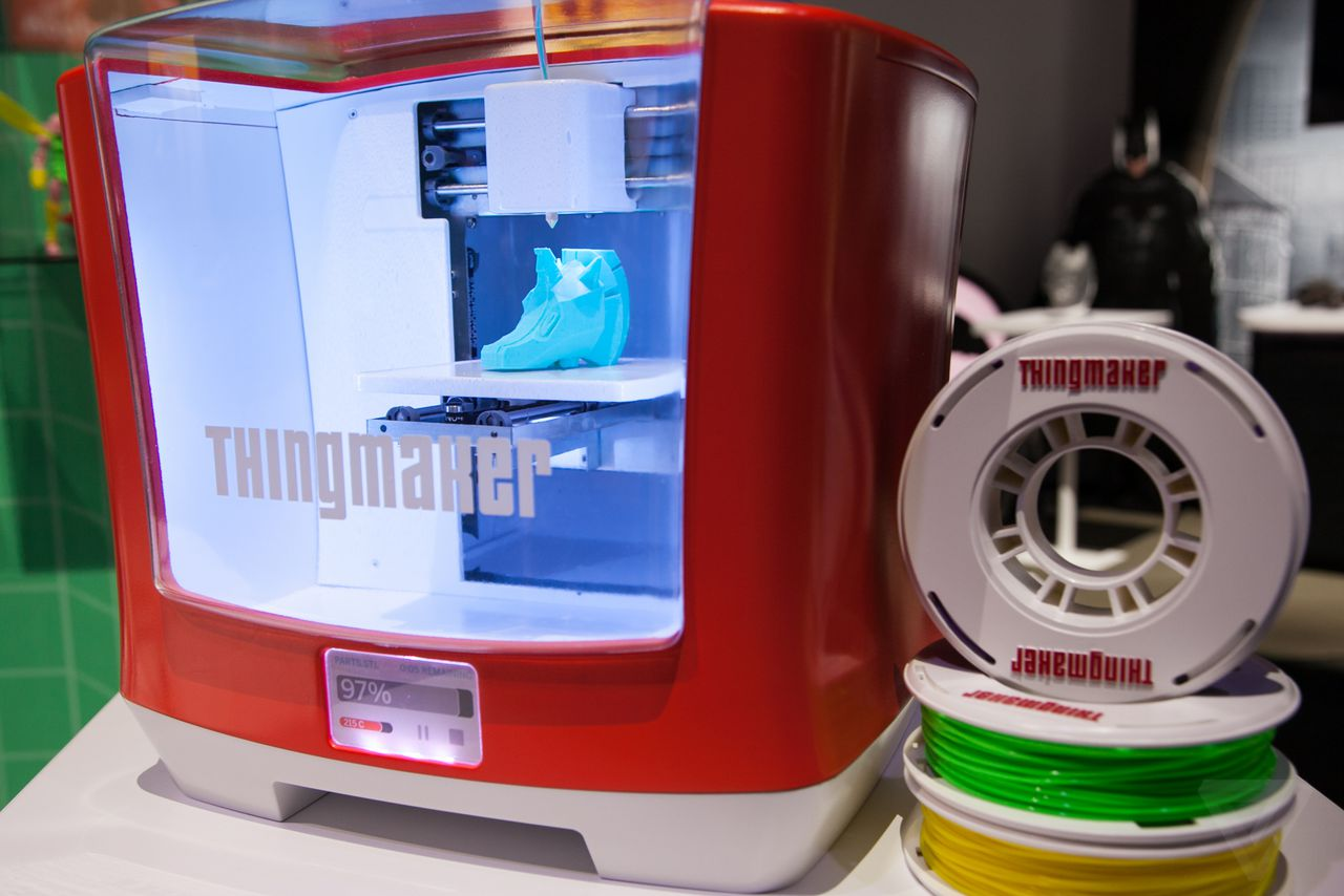 mattel u0027s 300 3d printer lets you design and create your own toys