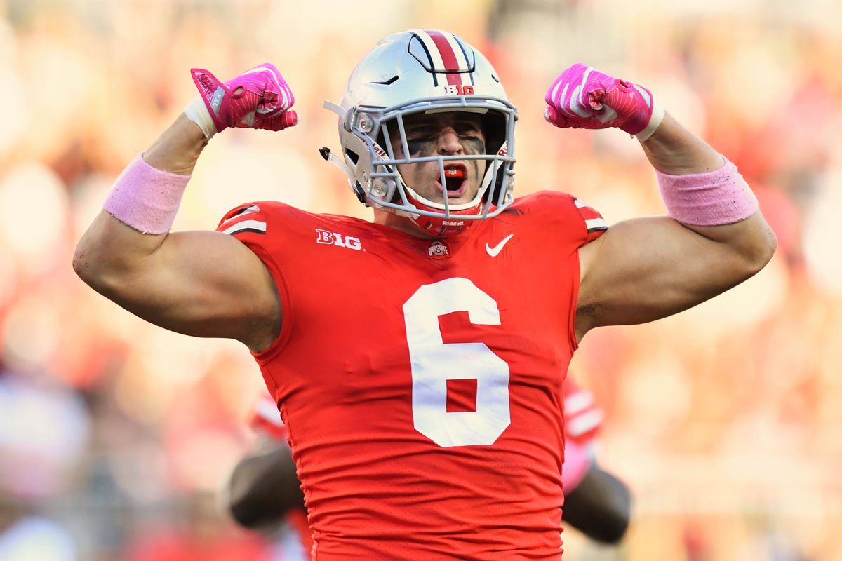 b22b1c92 Sam Hubbard has the traits and athletic profile of a great EDGE ...
