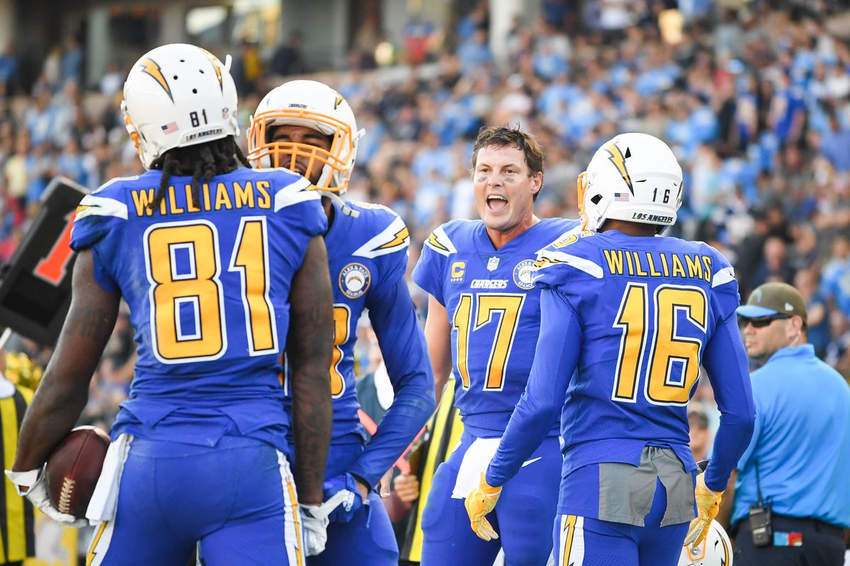 Los Angeles Chargers Daily Links Where Do The Chargers Uniforms Rank Bolts From The Blue