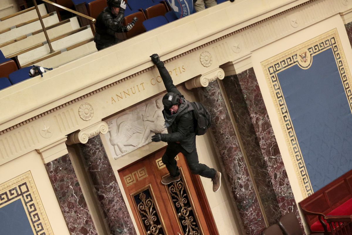 Capitol Hill rioter