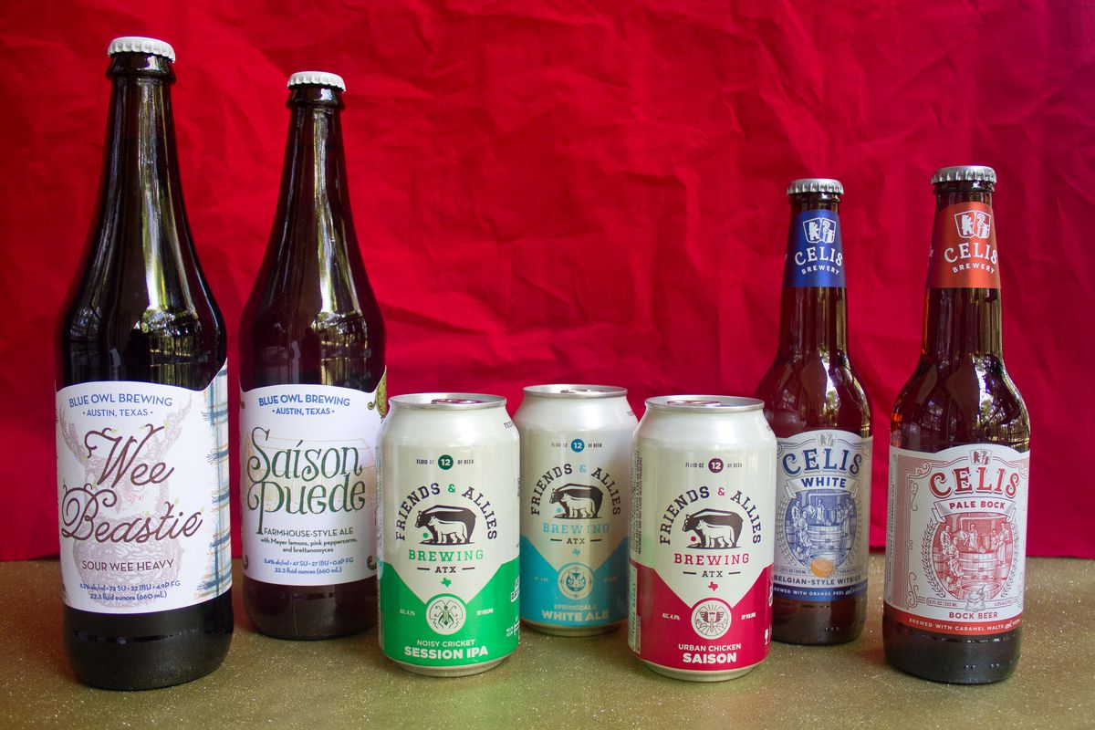 Beers from Blue Owl, Friends & Allies, and Celis