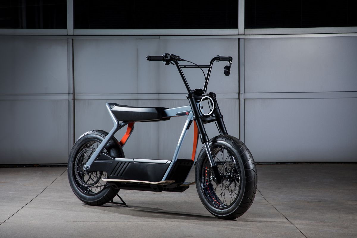 Harley Davidson S Electric Scooter Concept Is More Exciting Than Its Motorcycle