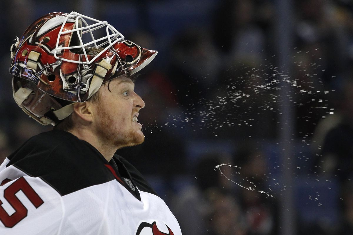 Cory Schneider was on fire. Not literal fire, though I'm sure the water was refreshing.