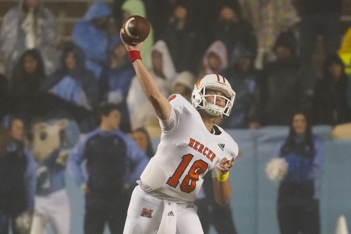 NCAA Football: Mercer at North Carolina