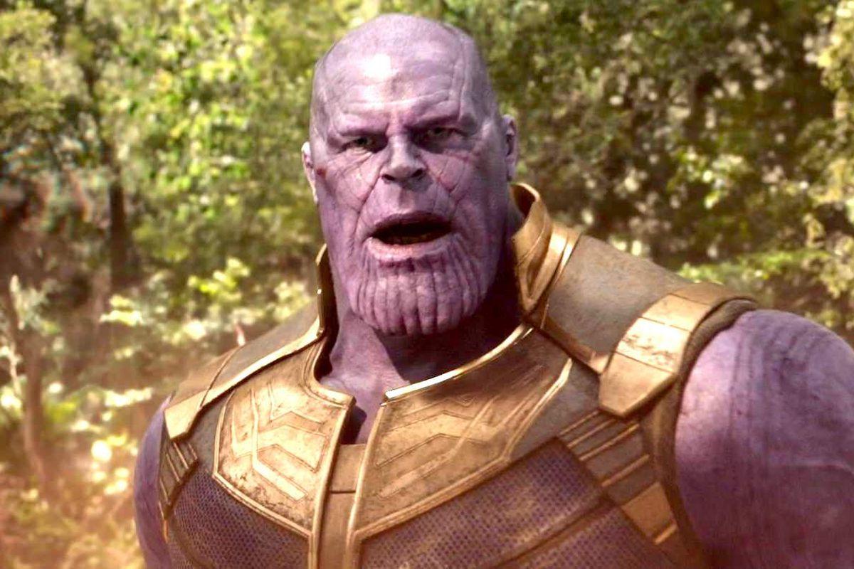 Avengers: Infinity War - Thanos jaw drop
