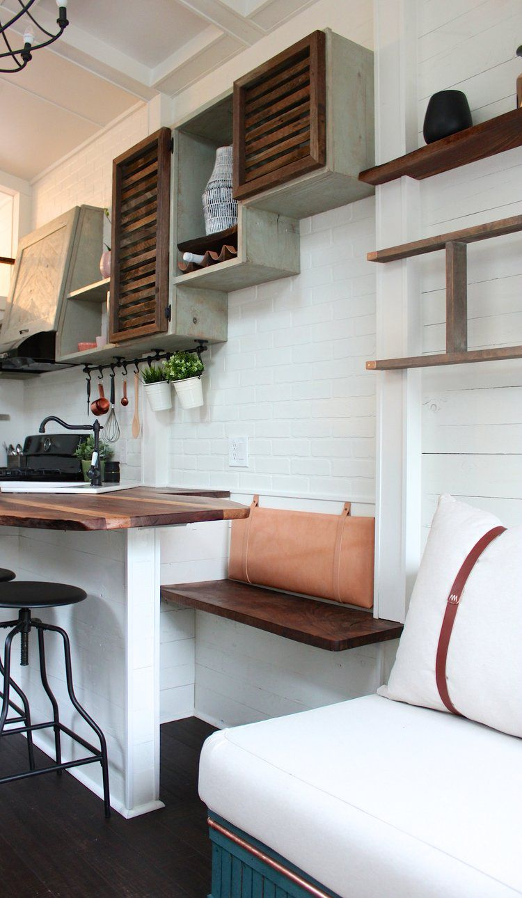 Tiny house packs 'farmhouse chic' into 240 square feet - Curbed