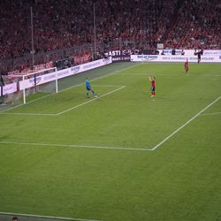 Schweini took a moment to applaud the fans, too.
