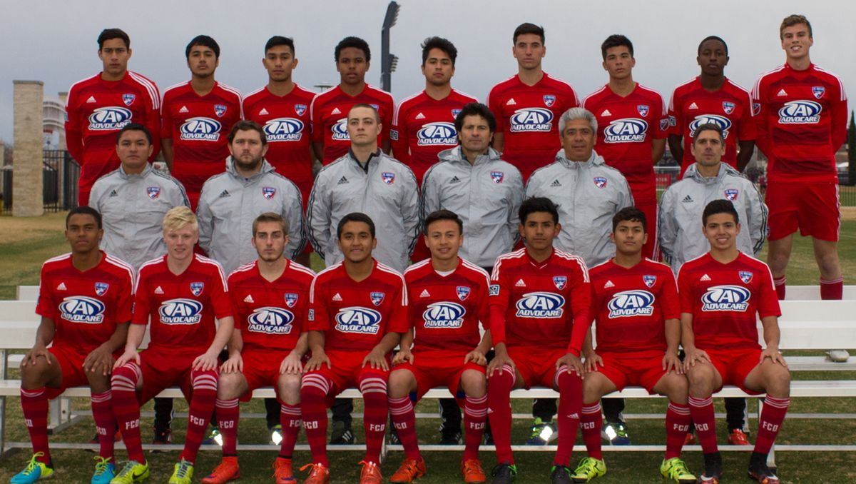FC Dallas U-18 team