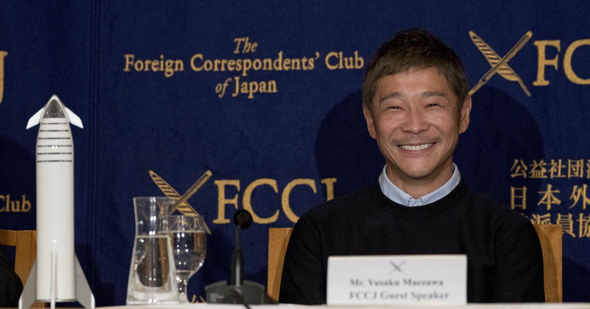 Japanese billionaire seeks girlfriend for Moon voyage on SpaceX rocket