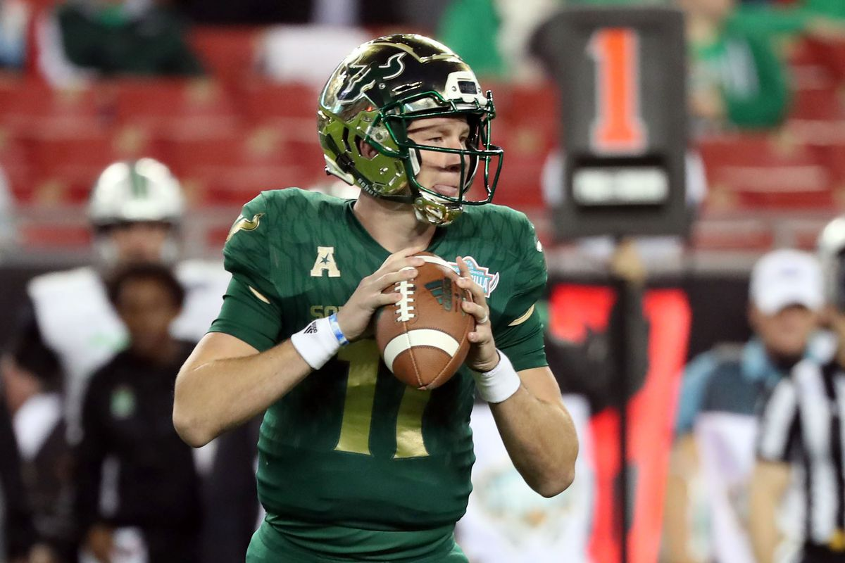 2019 Usf Football Spring Practice Preview Quarterbacks The Daily