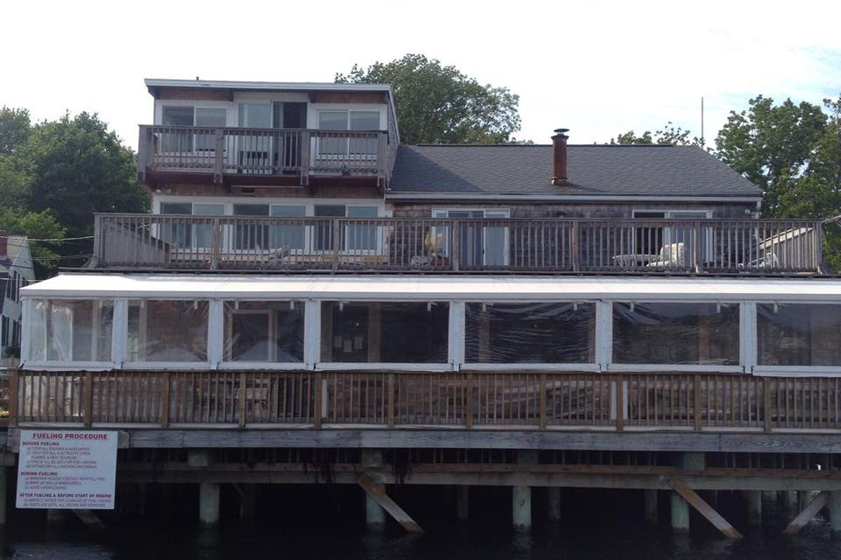 Exterior of The Market Restaurant on Lobster Cove