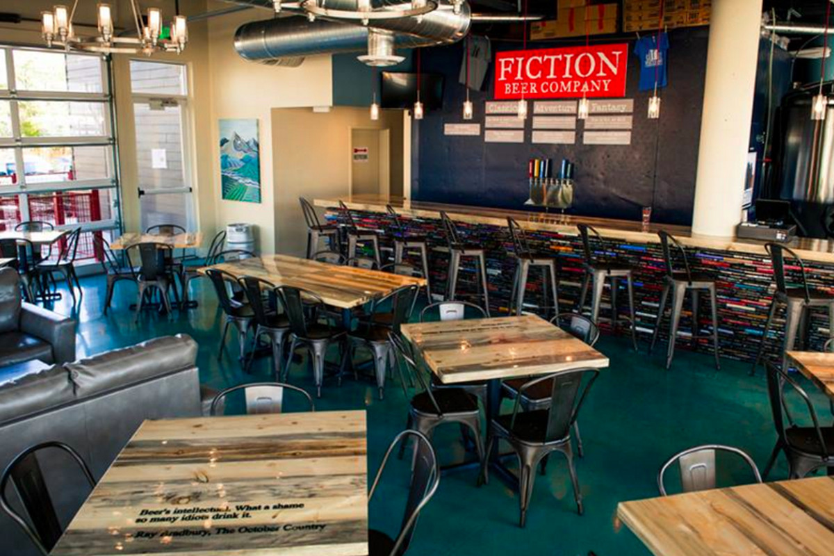 Head to Fiction Beer Company to try their new ale, which benefits ALS.