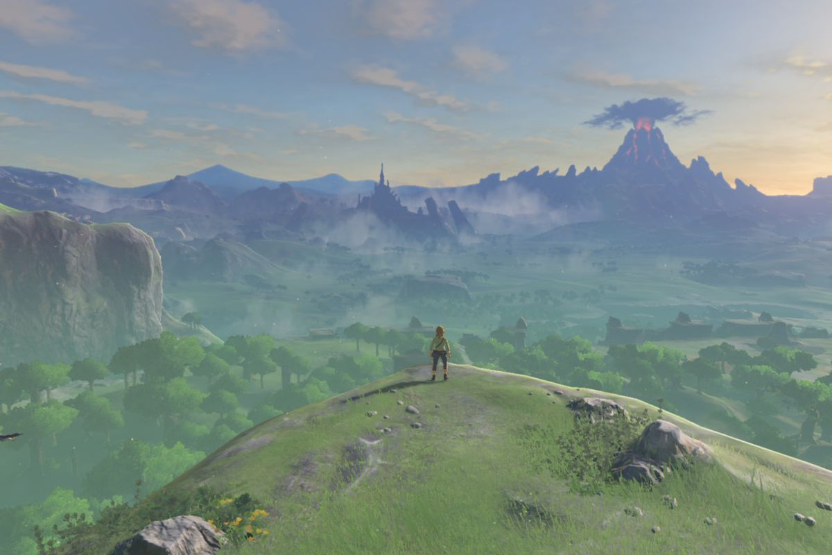 breath of the wild guide the great plateau walkthrough polygon