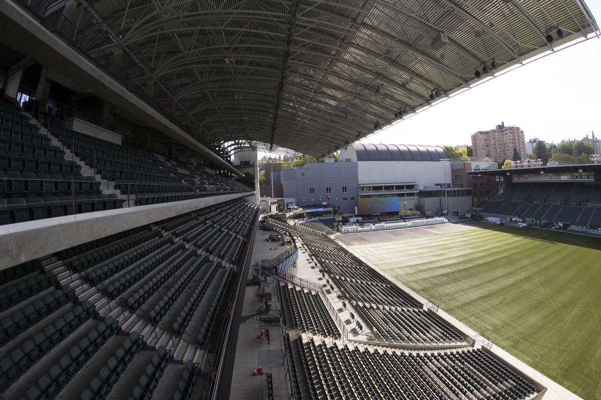 MLS: Portland Timbers-Providence Park Tour