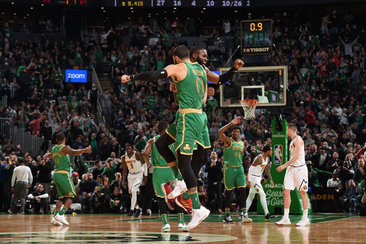 Denver Nuggets v Boston Celtics