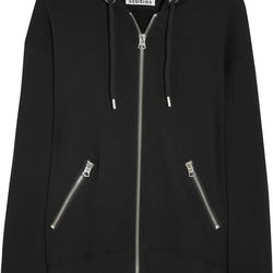 Acne Studios oversized hooded cotton-jersey top, $320, similar available at Barneys New York at the Palazzo