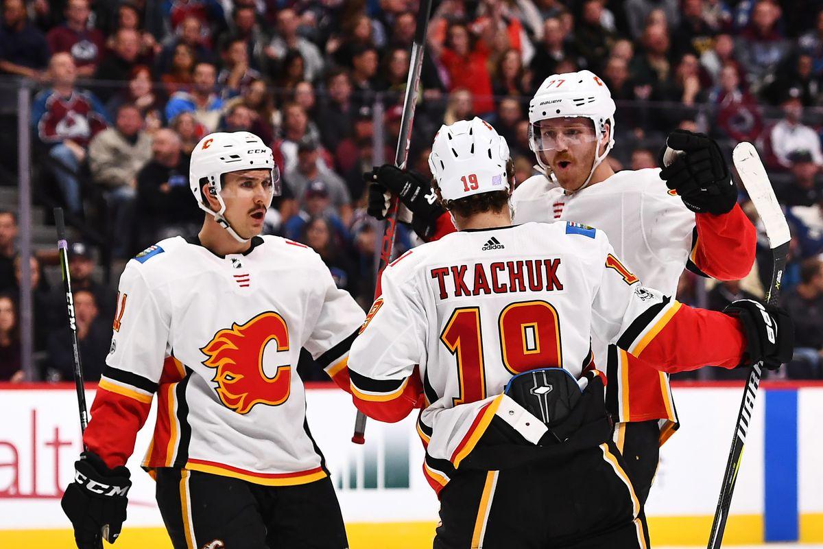NHL: Calgary Flames at Colorado Avalanche