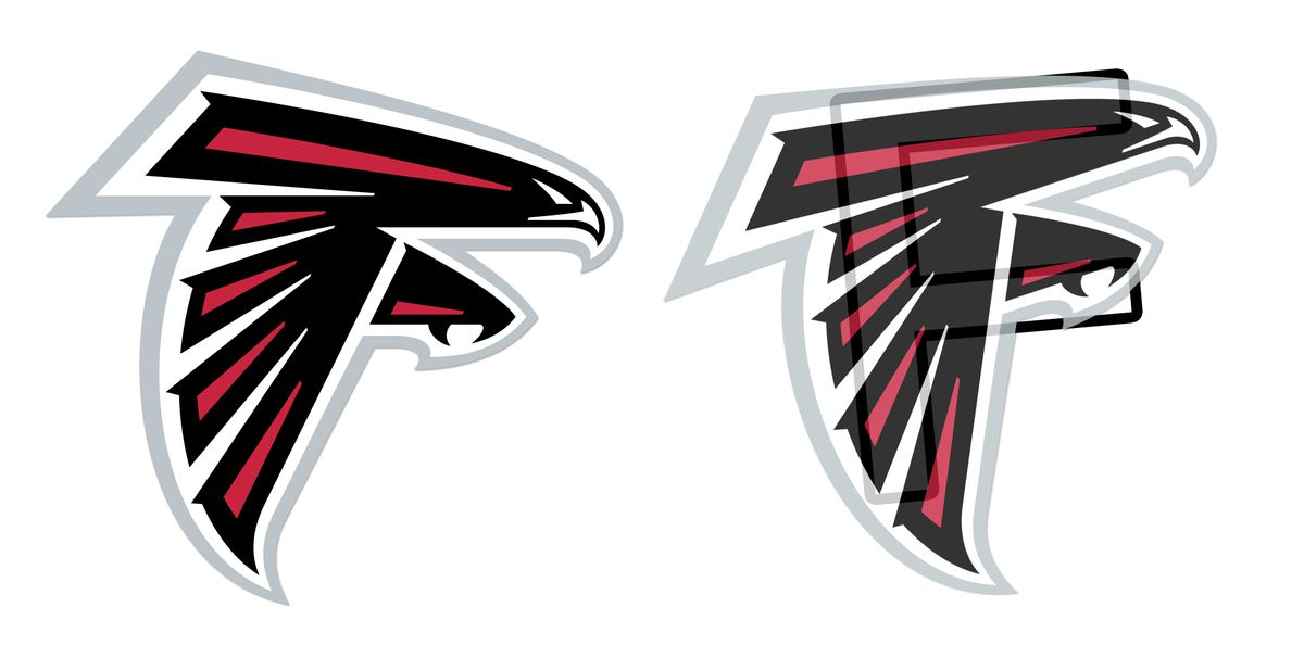 Image result for atlanta falcons logo F