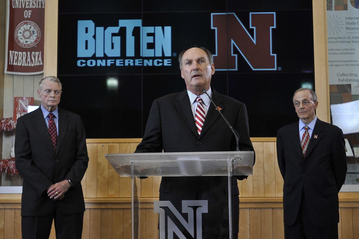 University of Nebraska moves to the Big 10