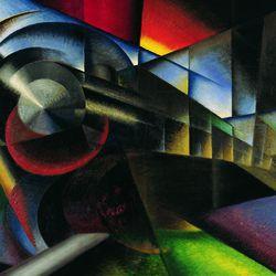 'Speeding Train' by Ivo Pannaggi (1922)