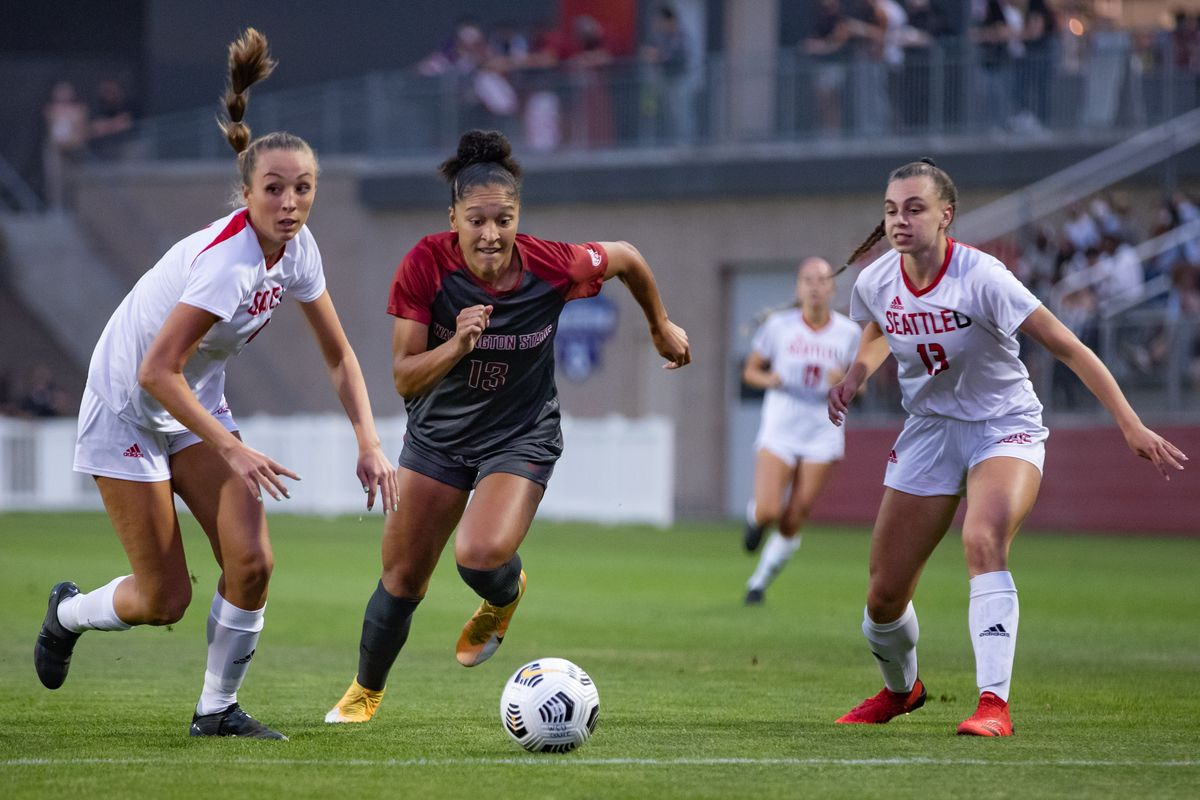 PULLMAN, WA - September 9: Washington State women's soccer team fall to Seattle 1-2 at Lower Soccer Field