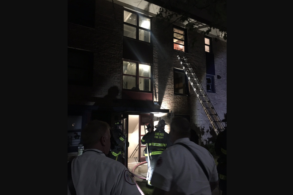 A woman was hurt in fire June 17, 2021 in Wentworth Gardens.