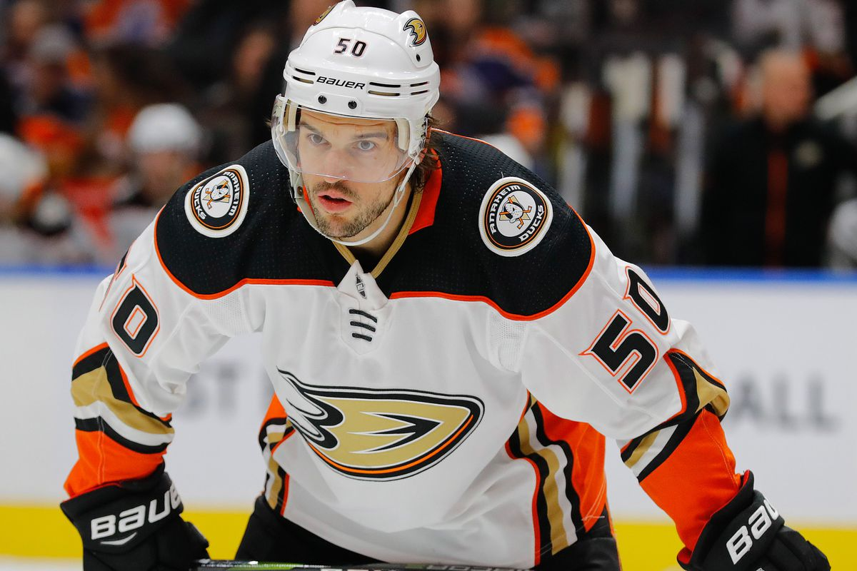 NHL: Anaheim Ducks at Edmonton Oilers