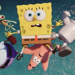 Sponge Out of Water' is a wacky comic ride - Deseret News