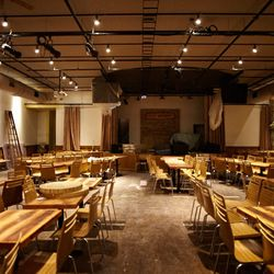 Venue that seats about 350 where musical acts, comedy shows and the famous Klezmer brunch will be held.