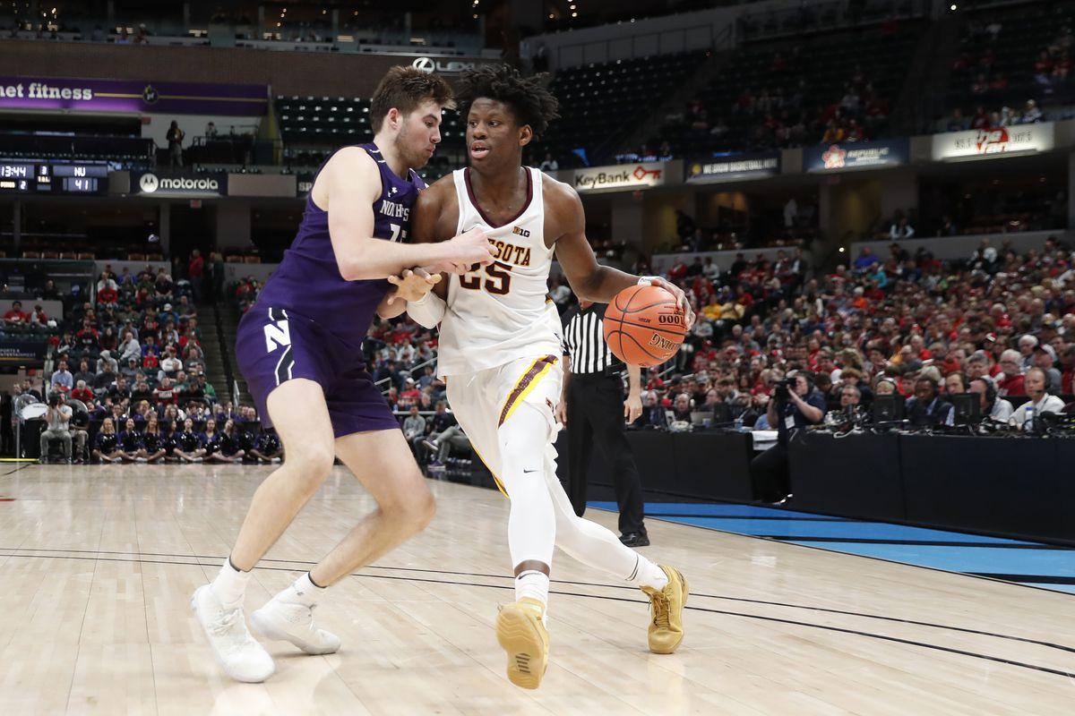 NCAA Basketball: Big Ten Tournament-Northwestern vs Minnesota