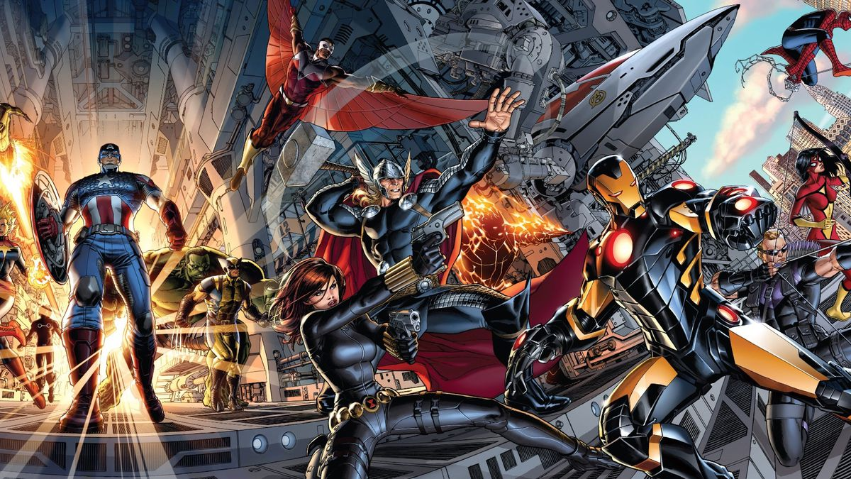 hickman avengers covers 1 - 3 (2012)