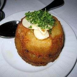 """The goose fat potatoes from Strip House (<a href=""""http://www.gracenotesnyc.com/things-to-do-in-nyc/strip-house/"""" rel=""""nofollow"""">Gracenotesnyc</a>)"""