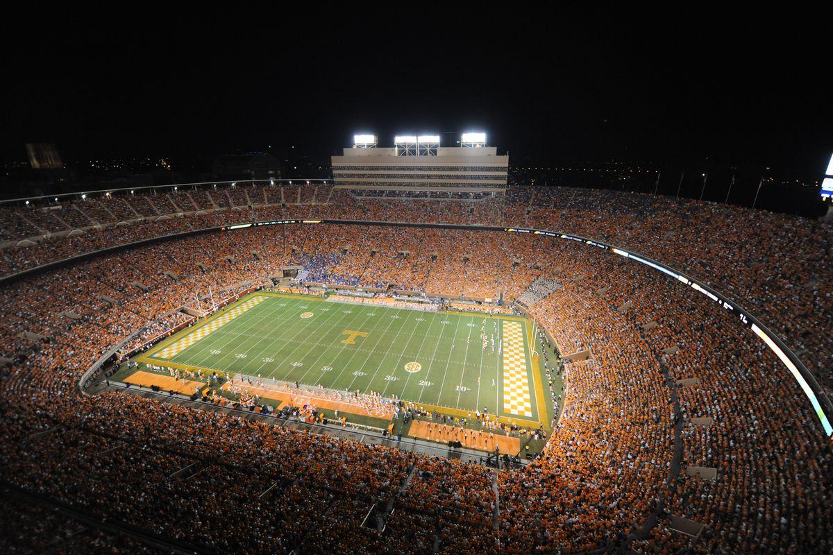 Knoxville, Tn - University Of Tennessee Vs University Of Florida