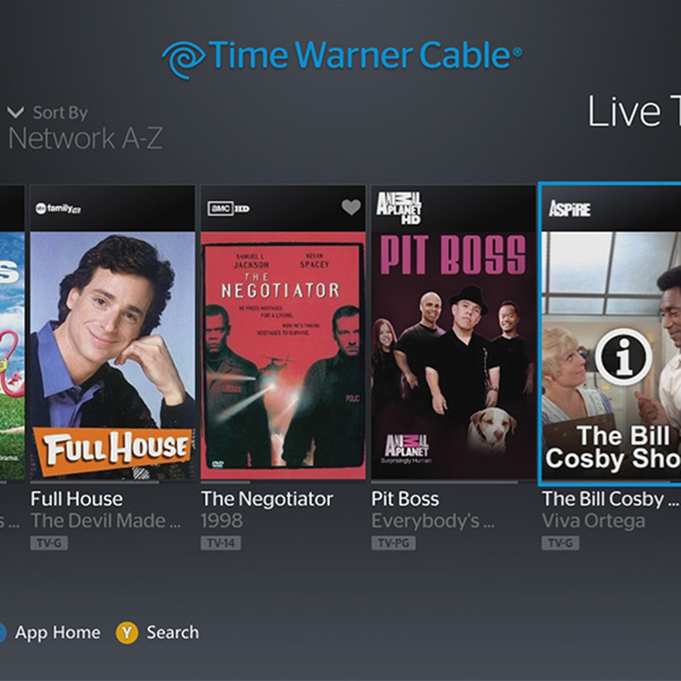Time Warner Cable app launching today on Xbox 360 (update