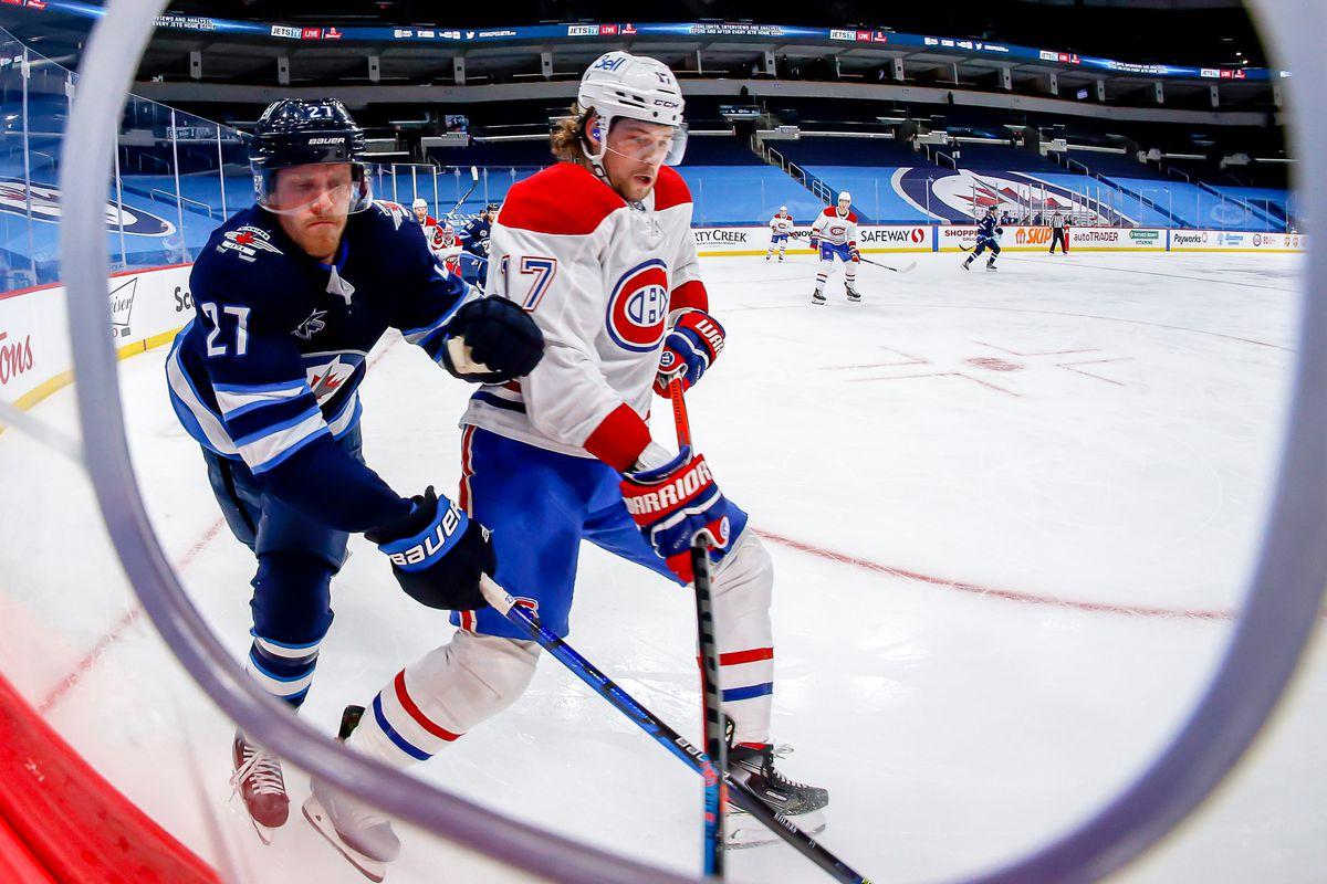 Montreal Canadiens v Winnipeg Jets