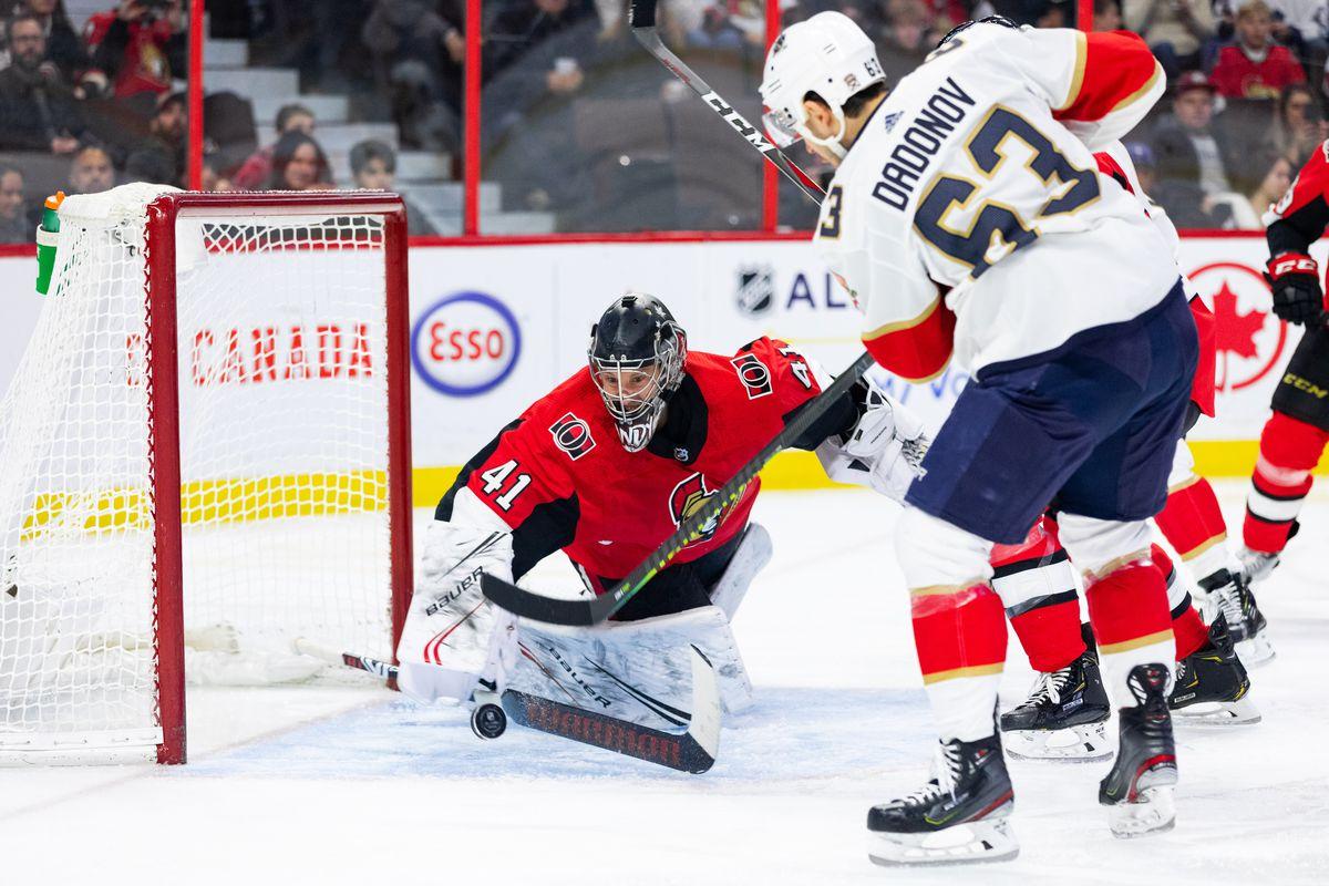 NHL: JAN 02 Panthers at Senators