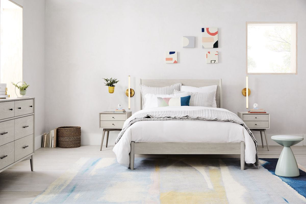 West Elm Rent The Runway Partner For Bedding Rentals Curbed