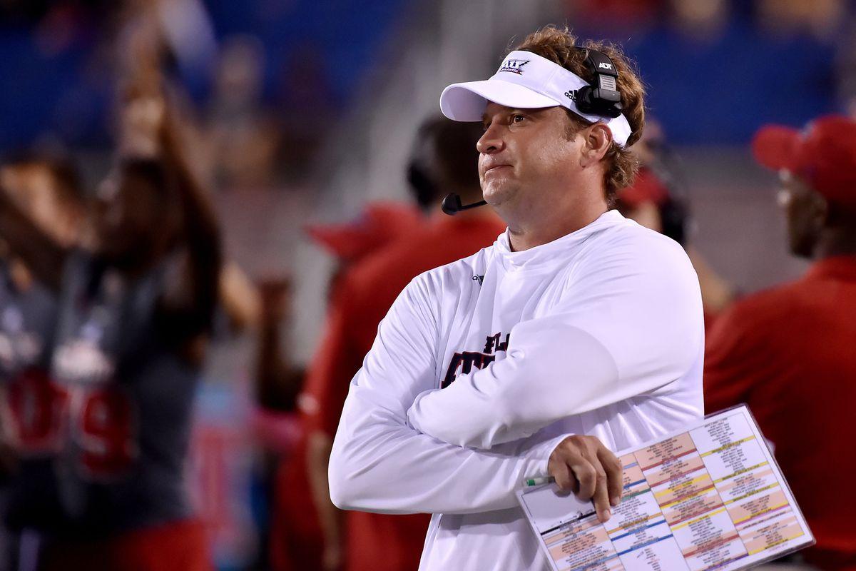 NCAA Football: Louisiana Tech at Florida Atlantic