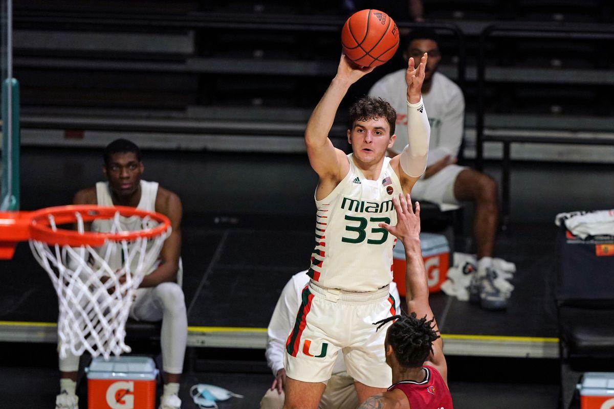NCAA Basketball: Louisville at Miami-Florida