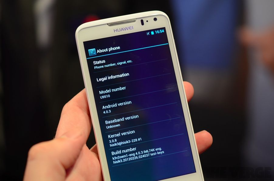 Huawei Ascend D quad: hands-on with the fastest smartphone ...