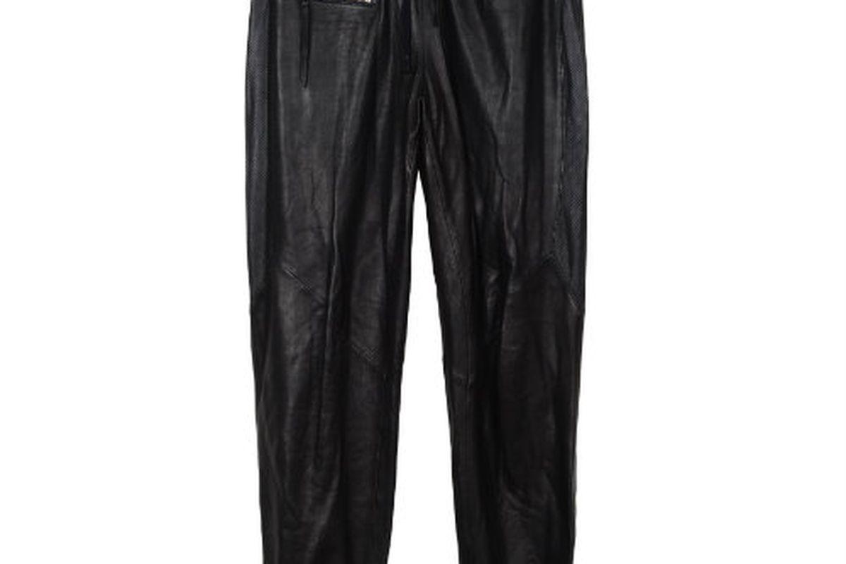 Pam & Gela leather track pants, $770 at Maxfield, Malibu