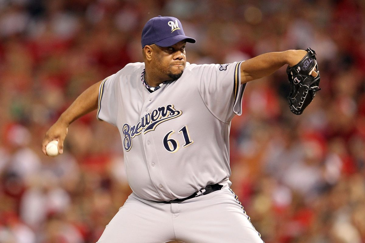 Getting a picture of Livan Hernandez pitching is like taking a picture of bigfoot.